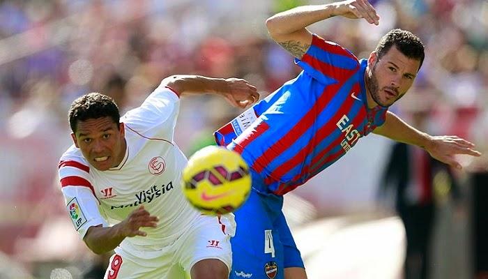 Levante vs Sevilla en vivo
