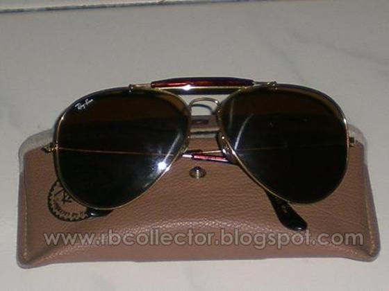 Browbar berwarna Cokelat menyerlahkan lagi Kacamata Rayban Outdoorsman  Tortuga ini. Cuma casing saya tidak pasti rupa casing untuk kacamata ini. 1ac3641f1b