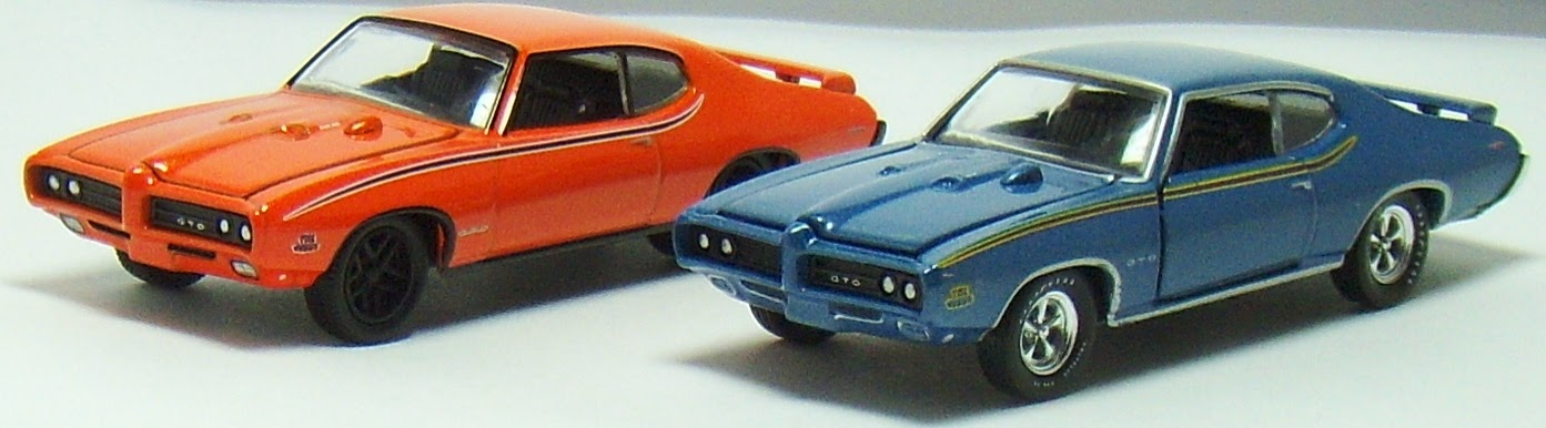 Two Lane Desktop: M2 Machines 1969 Pontiac GTO \