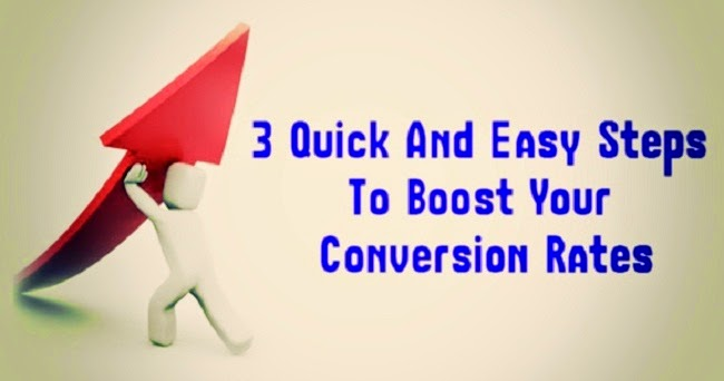Conversion Optimization – The 3 Easy Steps for Increasing Conversion Rates