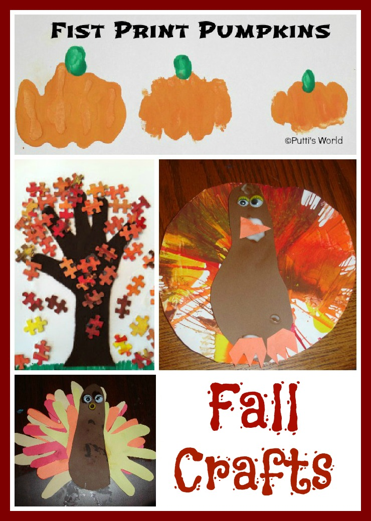 Fall crafts for kids growing a jeweled rose for Fall craft ideas for toddlers