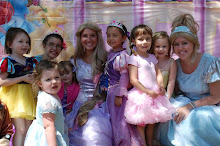 Lilliana, Rapunzel, Cinderella and friends