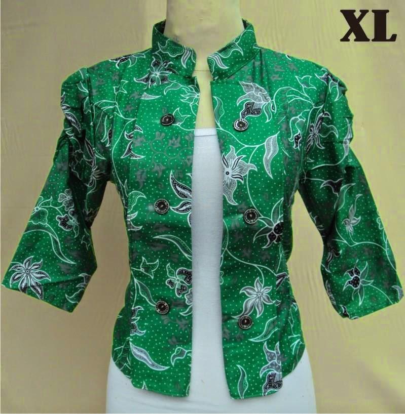blazer-batik-motif-anjani-hijau