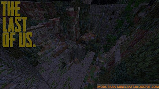 The Last of Us Mapa para Minecraft 1.8