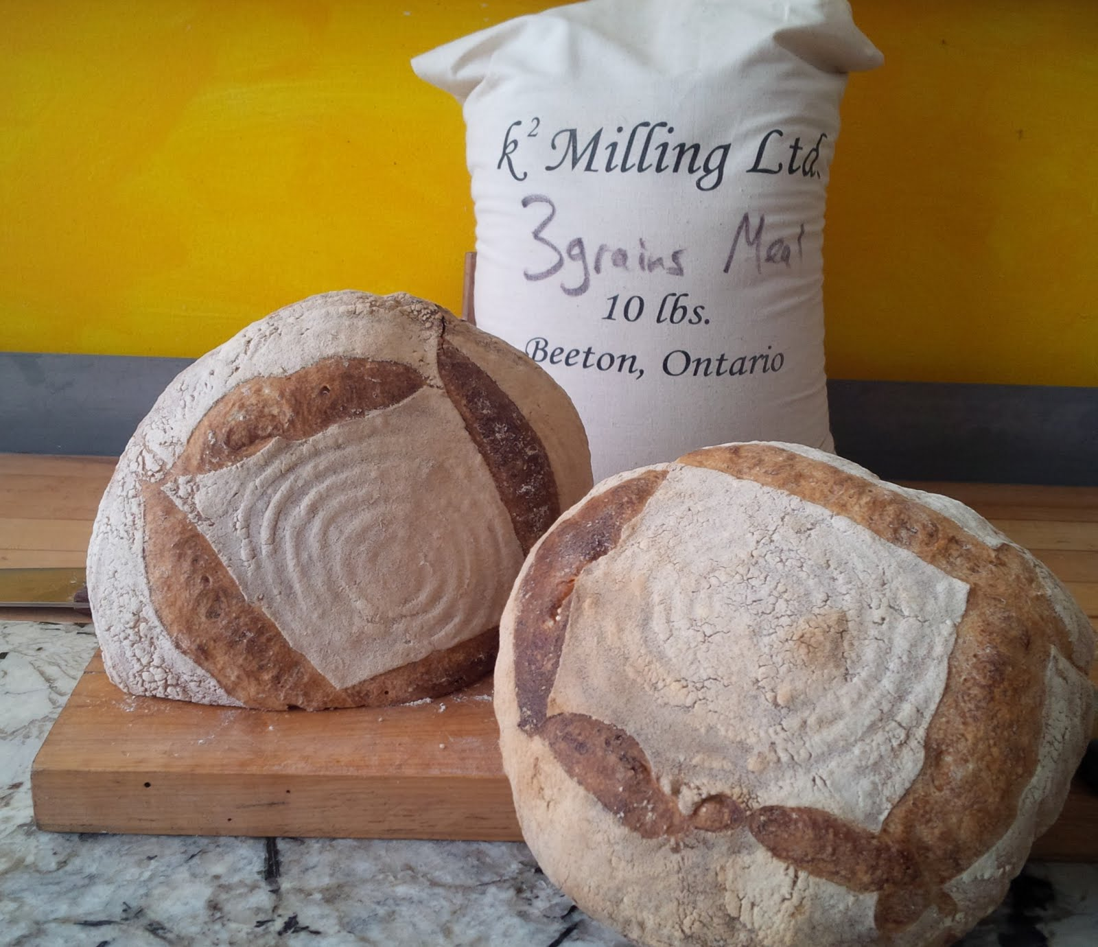 Beautful sourdough bread from Bracebridge