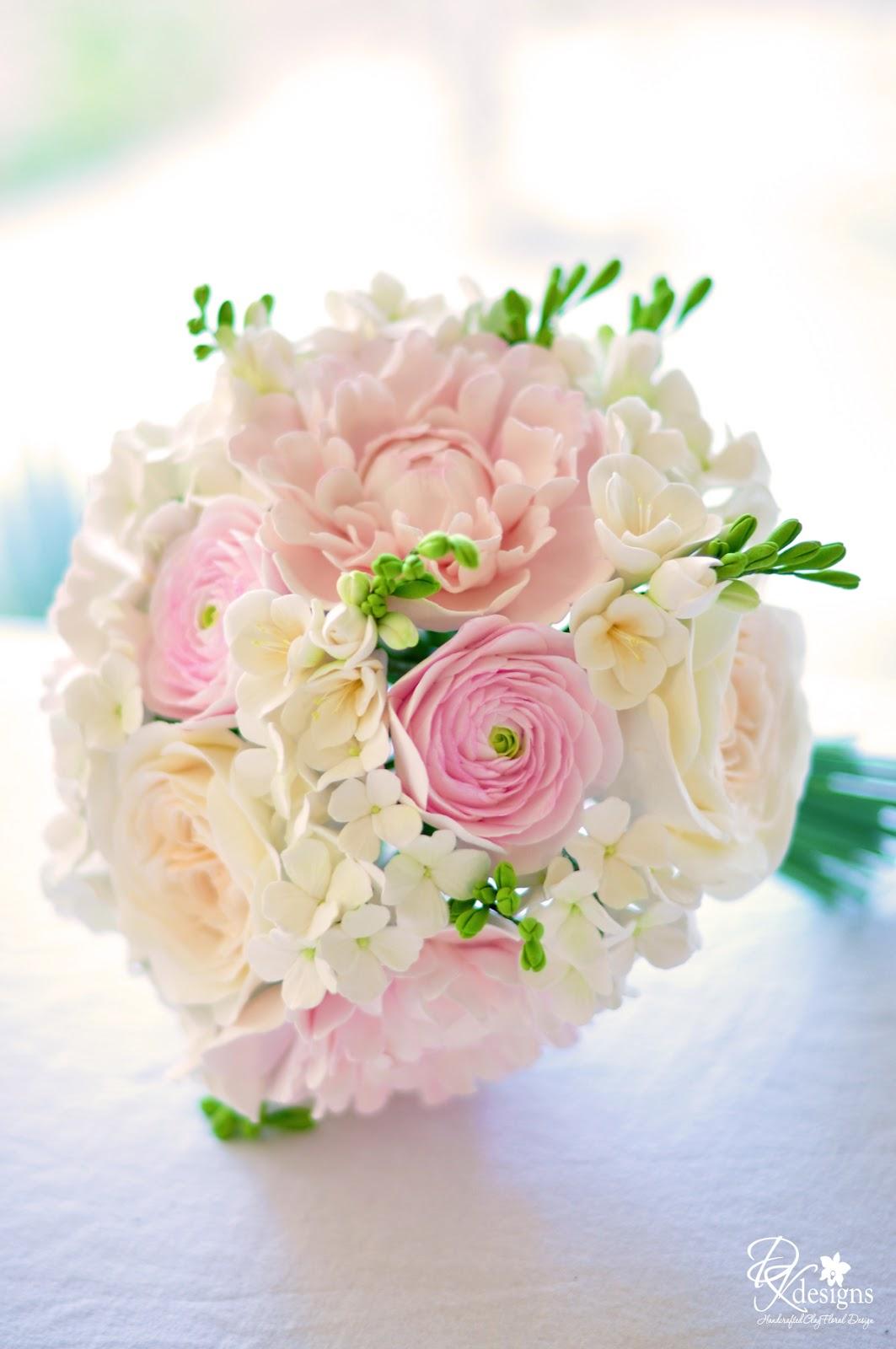 Blush Pink And White Wedding Dk Designs