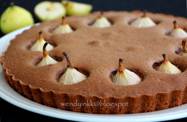 Table for 2.... or more: Paradise Pear Pecan Cake