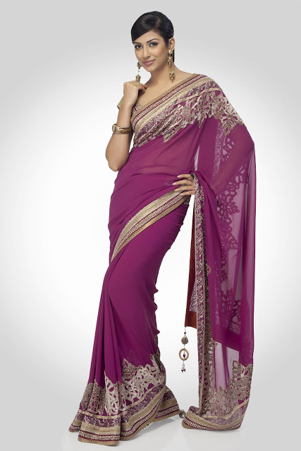 Indian-Bridal-Saree-Fashion