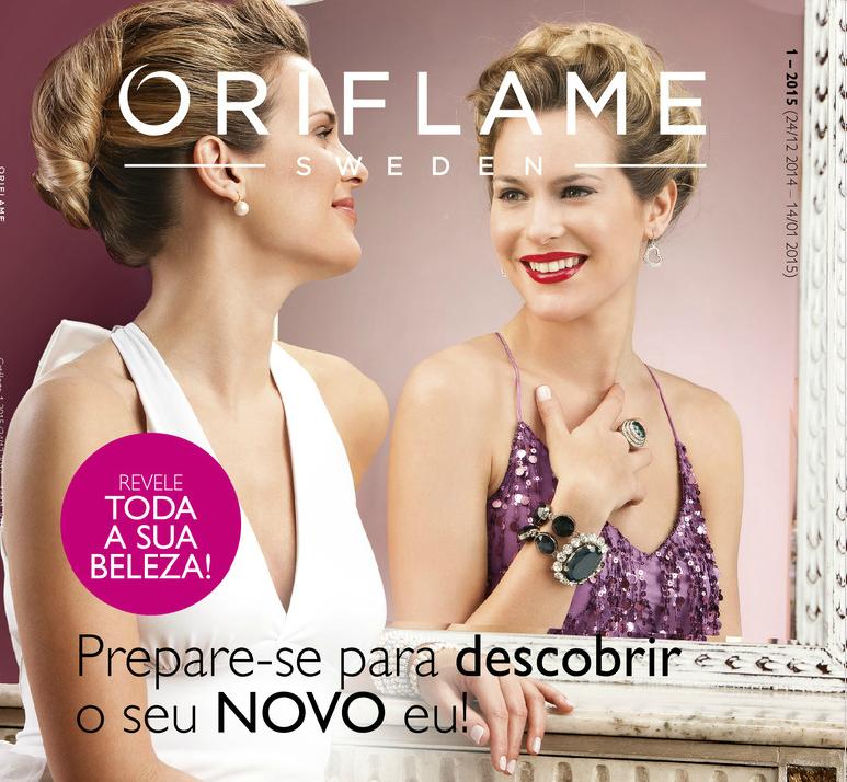 Catálogo 01 de 2015 da Oriflame