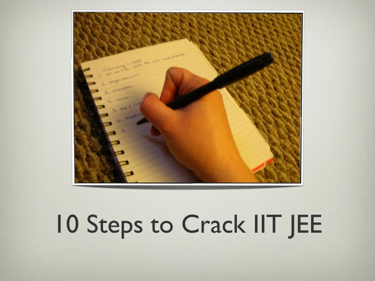 How to Crack IIT JEE in a Month