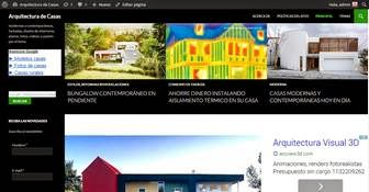 Sitio web Arquitectura de Casas