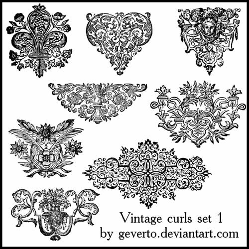 Gorgeous free vintage frames borders ornaments