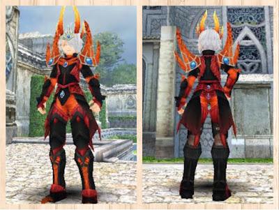 蛮竜の鎧 黒1+赤 2重量化