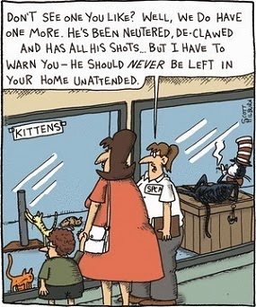 Scott Hilburn, Argyle Sweater: Dr. Seuss, The Cat in the Hat.