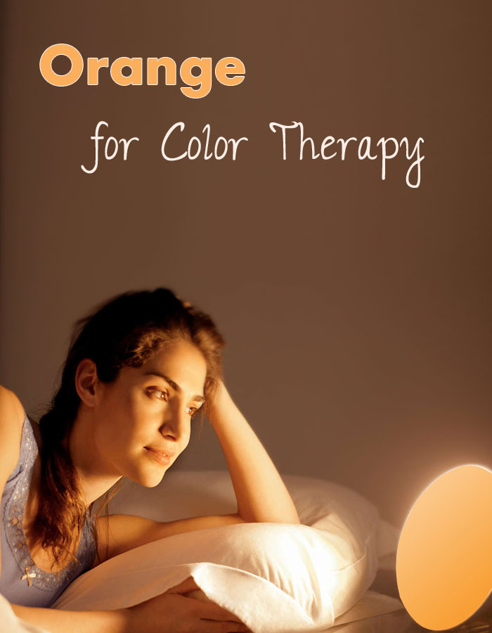 Orange for Color Therapy