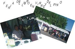 Nuevamente participamos en la Feria del Libro que organiza la Biblioteca Popular Virrey del Pino
