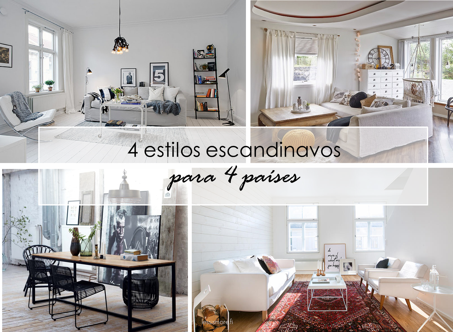 Decoraci n f cil diferencia del estilo escandinavo for Decoracion estilo nordico escandinavo