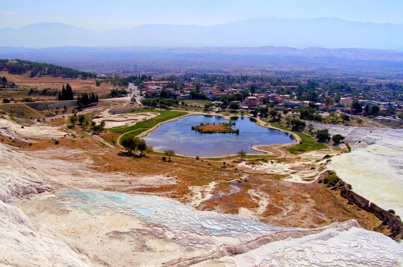 Terraces and Pools of Pamukkale | Turkey