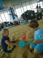 The indoor beach
