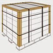 Упаковка с применением картонного защитного уголка