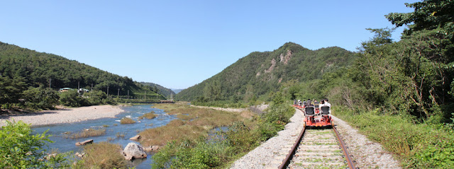 Bicirrail de Mungyeong
