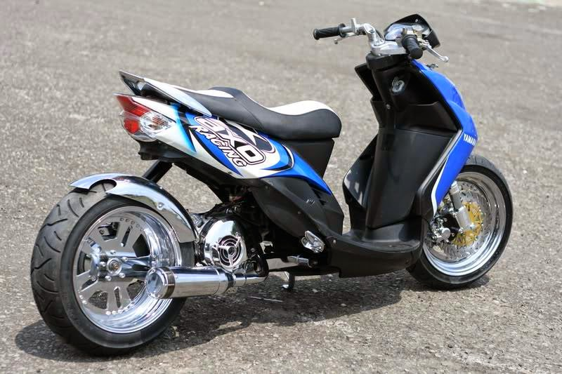 ide modifikasi elegan mio sporty