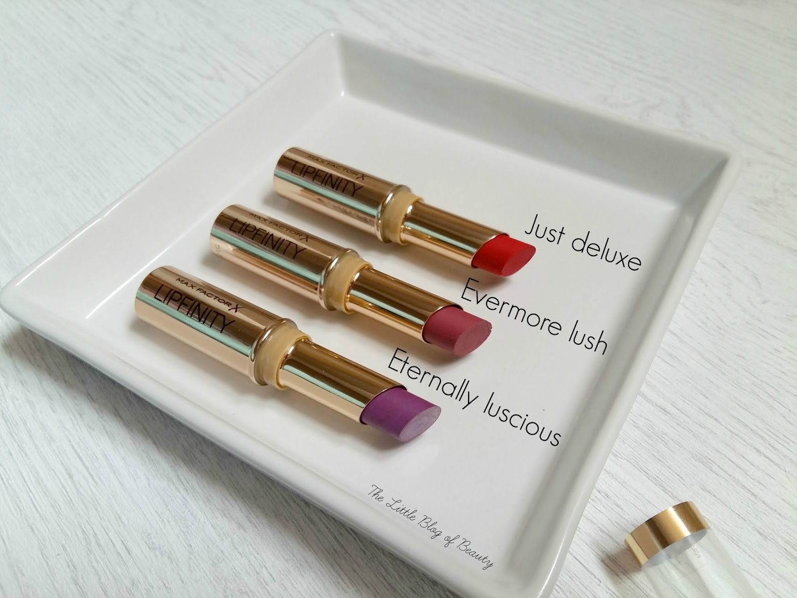 Max Factor Lipfinity long lasting lipstick | The Little Blog of Beauty