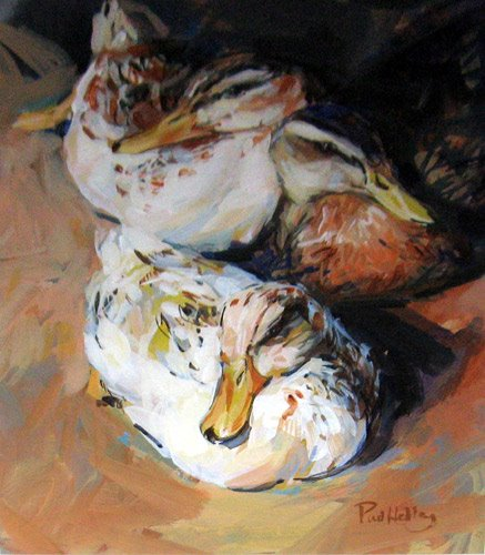 Paul Hedley 1947   British Figurative painter