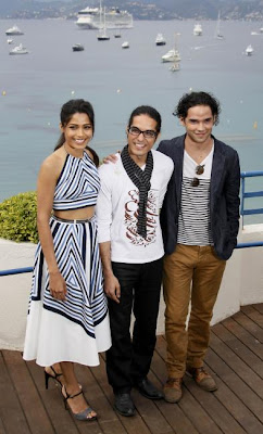 freida pinto at cannes film festival photo gallery