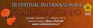 """Cosa fare a Milano gratis sabato 30 novembre: festival di chitarra classica """"Corde d'Autunno"""""""