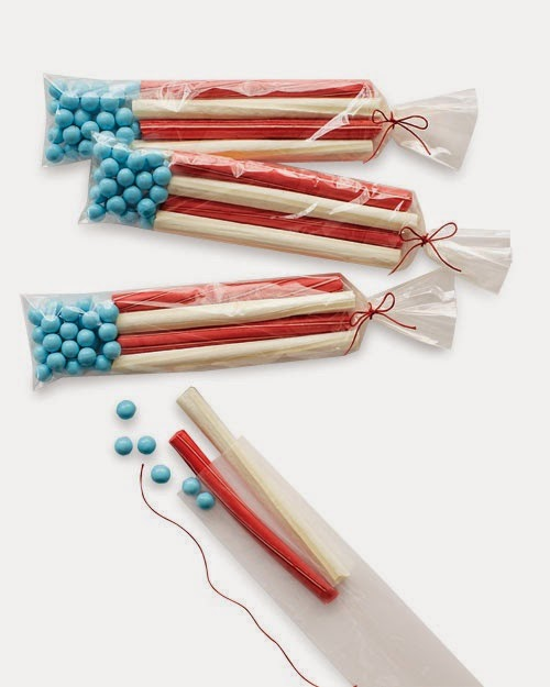 Memorial Day candy  flags