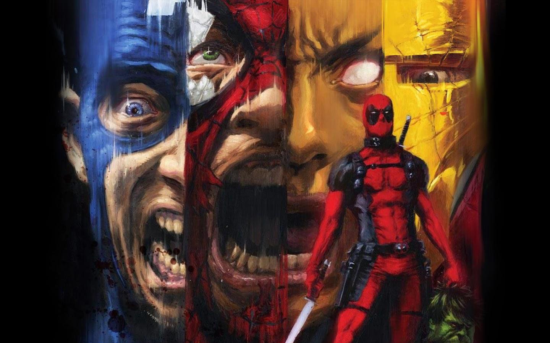 Deadpool Kills Marvel Heroes A81 HD Wallpaper