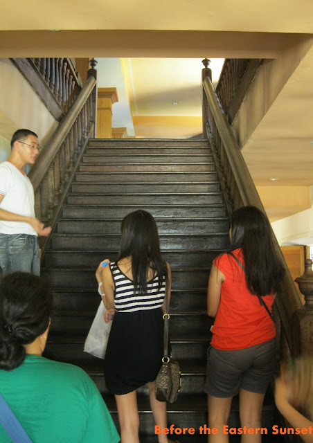 Cebu Cathedral Museum - stairs