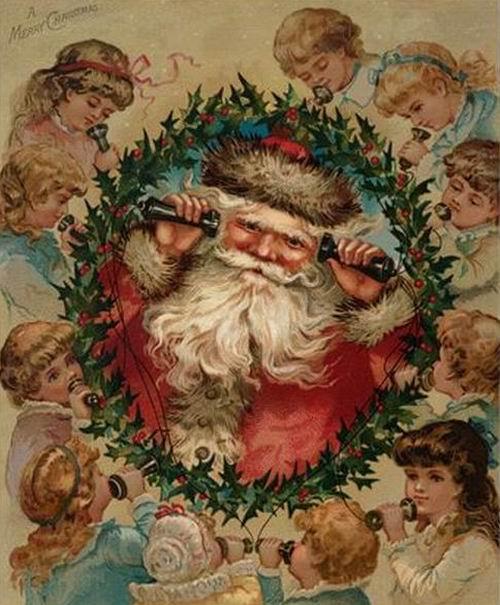 Kokoro Babbo Natale Con Le Renne E Le Strenne Da San