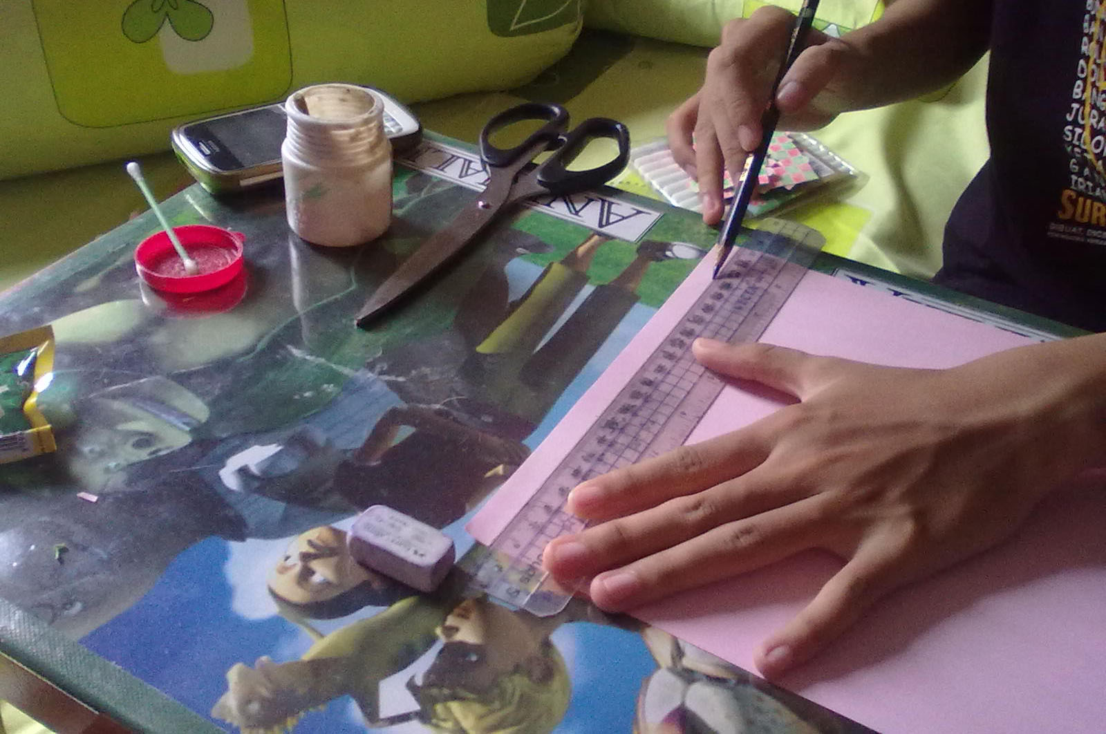 Cara Membuat Hiasan Dari Kertas