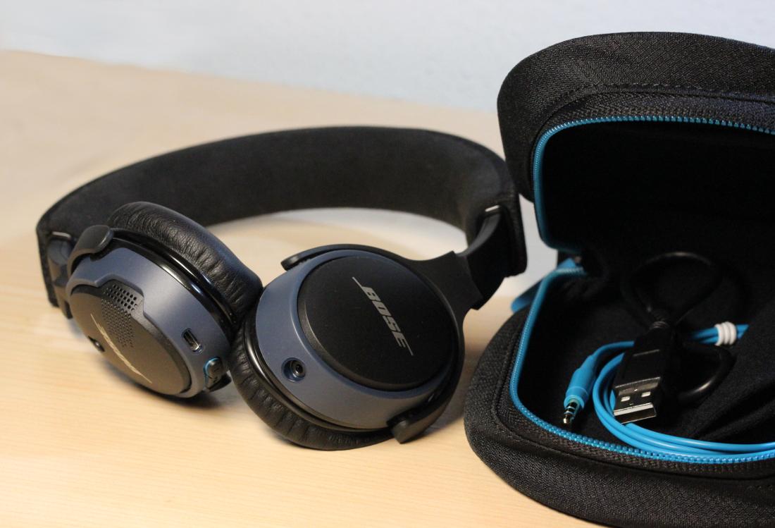 Lieferumfang Bose SoundLink Bluetooth On-Ear Kopfhörer