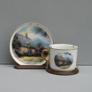 Buy a Thomas Kinkade Country Cottage Teacup Display