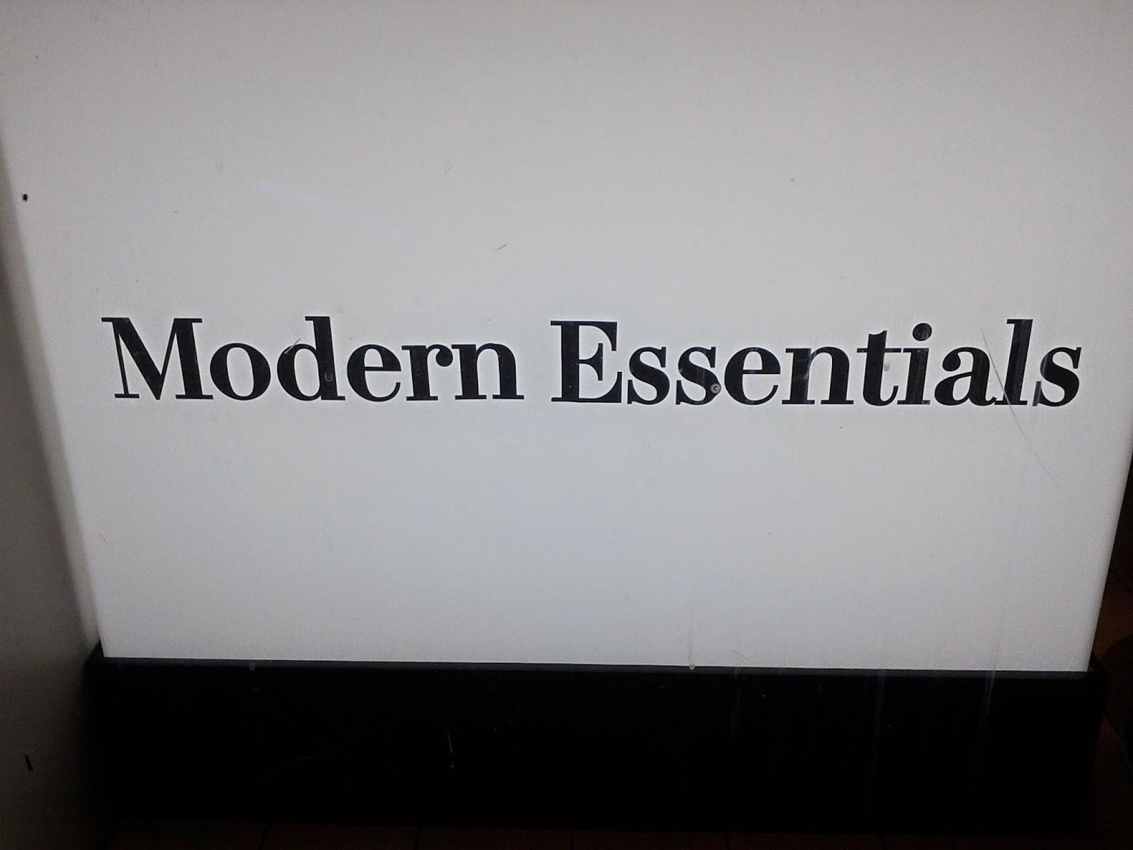 Modern Essentials at H&M