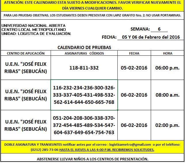 CENTRO DE PRESENTACIÓN EN METROPOLITANO. VIERNES 05 y SÁBADO 06 DE FEBRERO