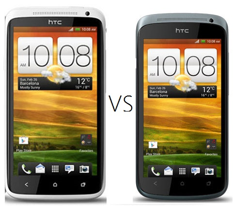 HTC One S vs. The HTC One X