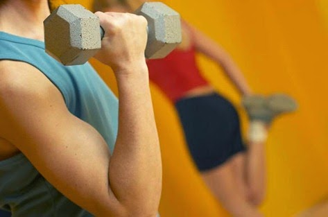 Rutina de ejercicios, musculación y fuerza