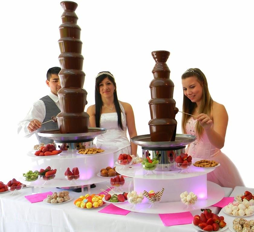 Cascada de chocolate Royal 8 pisos y Candy 5 pisos venta para alquilar