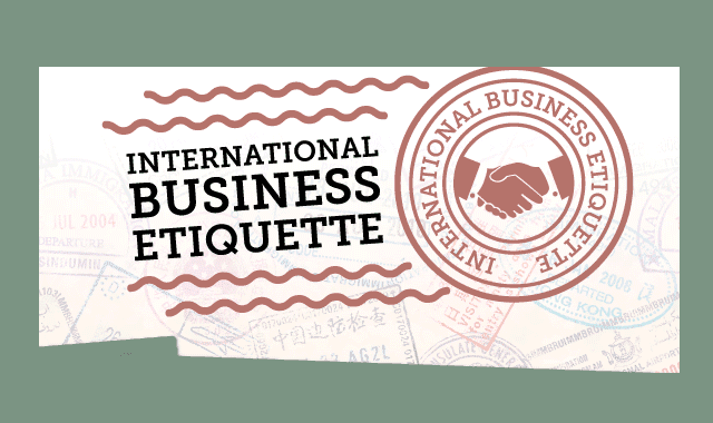 image gallery international business etiquette