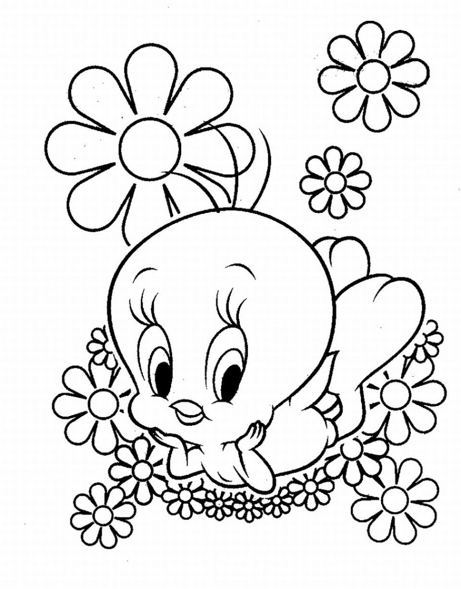 printable coloring pages daisy scout flower coloring pages