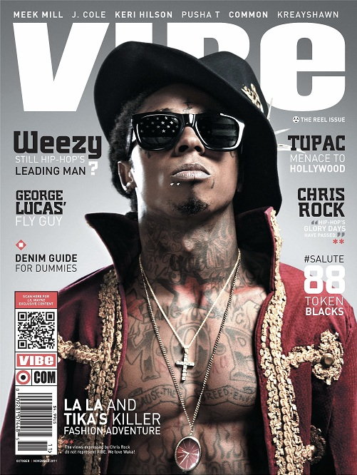 Lil Wayne na capa da revista VIBE