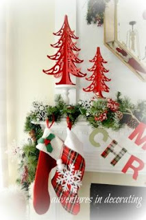 Adventurers In Decorating-A Merry little Christmas- From My Front Porch To Yours