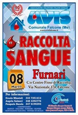 Domenica 8 M,ARZO 2015 dalle ore 8.00 alle ore 12.00 CENTRO FISSO DI RACCOLTA - FALCONE