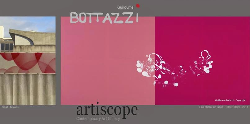Guillaume Bottazzi, solo show / Artiscope gallery