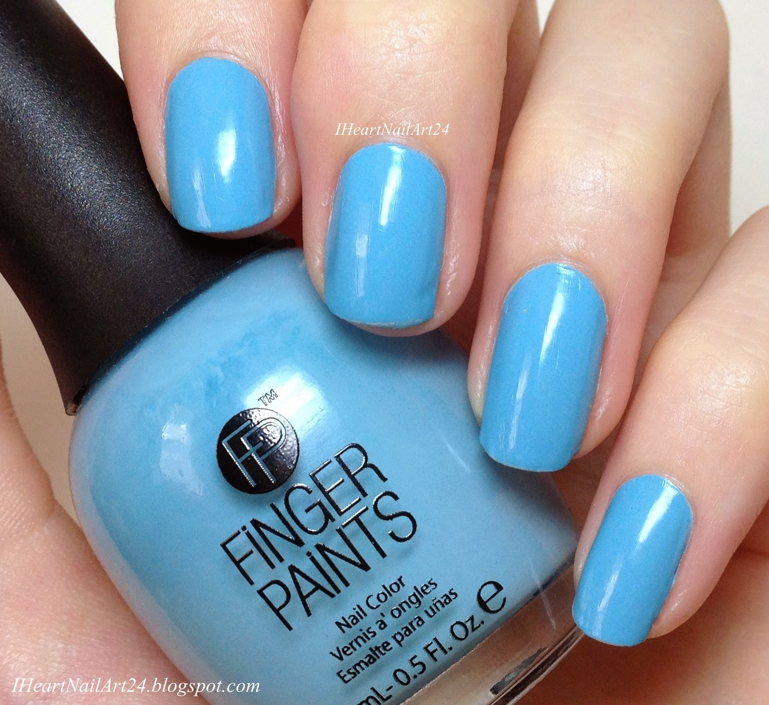 Finger Paints Tiffany Imposter Swatches & Review | I Heart Nail Art
