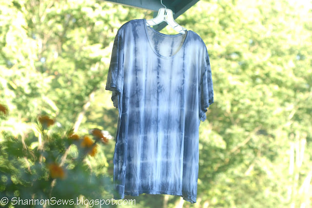 natural black bean dye creates blue results